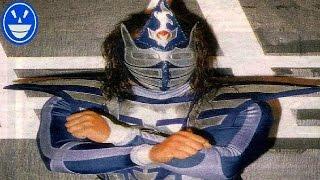 El día que Blue demon jr cambio de mascara
