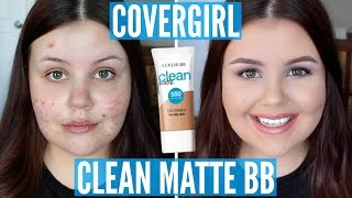 First Impressions | Covergirl Clean Matte BB Cream (Acne/Scarring)