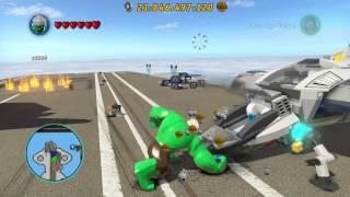 getlinkyoutube.com-LEGO Marvel Superheroes - Unlocking Stan Lee on Xbox One (Stan's Soapbox Achievement)