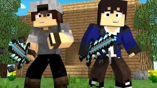 Minecraft: SORTE NO PVP - ESPADA DO WHITER!
