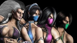 getlinkyoutube.com-Mortal Kombat 9 Fatalities    LADIES