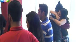 getlinkyoutube.com-لحظة رجوع إهاب ورفاييل للأكاديمية من سفرة الأردن 07/12/2015 ستار اكاديمي 11