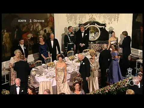Queen Margrethe's 70th Birthday 10  - Private Dinner at Fredensborg Palace 2 (2010)
