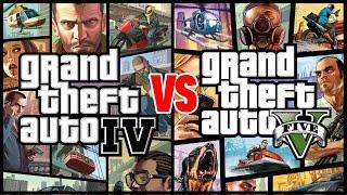 getlinkyoutube.com-GTA IV is Better than GTA V - Compilation Gameplay