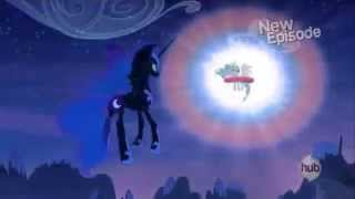 getlinkyoutube.com-My Little Pony Friendship is Magic Twilight sees how Celestia banished Luna/Nightmare Moon