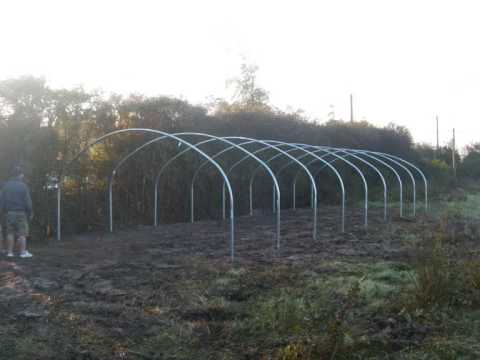 Polytunnel Construction