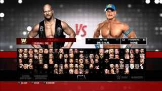 getlinkyoutube.com-PS4/PS3 WWE 2K16 STONE COLD VS JOHN CENA FULL MATCH GAMEPLAY