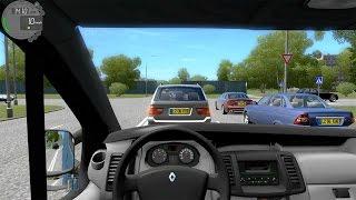 getlinkyoutube.com-City Car Driving 1.4 - Renault Trafic + (Download link!)