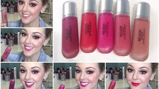 getlinkyoutube.com-Revlon Ultra HD Matte Lipcolor SWATCHES and FIRST IMPRESSIONS