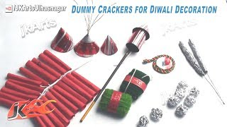 getlinkyoutube.com-DIY How to make Dummy Crackers for Diwali Decoration | School Project | JK Arts 417