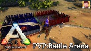 getlinkyoutube.com-ARK Survival Evolved[PvP]#05 : Maze Runner สมรภูมิมอดม้วย