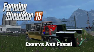 getlinkyoutube.com-Farming Simulator 2015: Mod Spotlight #33: Chevys And Fords!