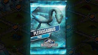 getlinkyoutube.com-PLESIOSAURUS PACK - Jurassic World The Game