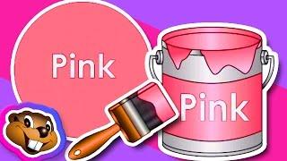 getlinkyoutube.com-The Paint is Pink - Preschool Music Baby Songs