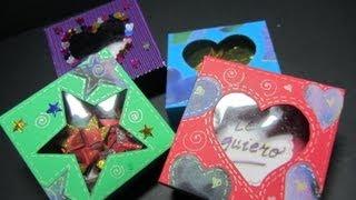 getlinkyoutube.com-Tutorial: Caja de regalo con mensaje (San Valentín). Gift box with a message..