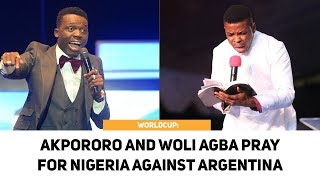 Nigeria Vs Argentina World Cup Russia 2018 | Akpororo And Woli Agba Endless Prayer