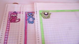 getlinkyoutube.com-Márgenes kawai para tus cuadernos /  monster inc/ faciles y rapidos