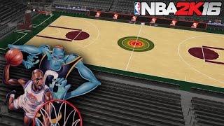getlinkyoutube.com-NBA 2K16 Court Creation Series: Space Jam Arena!