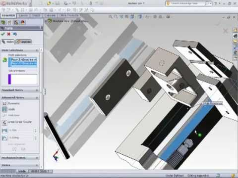 Solidworks 2011 - Building the Project and Assembling  Components