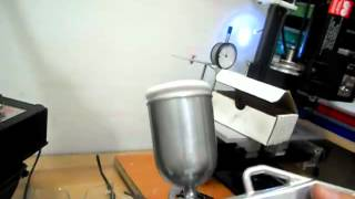 getlinkyoutube.com-Making SandBlaster Noozle with Sherline