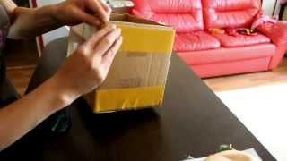 getlinkyoutube.com-МАстер-класс: декор коробки тканью