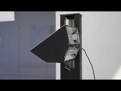 Švýcaři zkonstruovali robota pro dezinfekci UV-C zářením