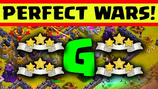 getlinkyoutube.com-Clash of Clans - PERFECT WARS! - 3 Star Attacks Every Time!