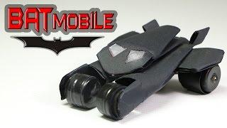 getlinkyoutube.com-How To Make A Batman Car Out Of Paper - (Batmobile)