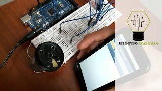 getlinkyoutube.com-Arduino projects + DC motor speed + mobile App