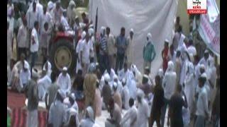 रुड़की: गुस्साए किसानों ने उत्तराखंड सरकार पर लगाए आरोप, NH 58 पर लगाया 3 घंटों तक  जाम