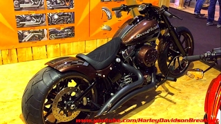 getlinkyoutube.com-Harley-Davidson Softail Breakout Custom 280 Tire