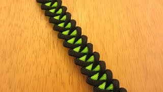 getlinkyoutube.com-How To Make A Shark Jaw Bone Paracord Bracelet
