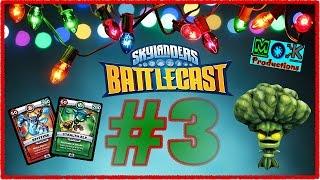 getlinkyoutube.com-Advent Calendar 2016: Day #3: Skylanders: Battlecast: Life Realm Part 1