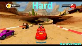 getlinkyoutube.com-Disney Infinity Lightning McQueen Farm Race Gold Hard (PS3,Xbox 360,Wii,Wii U,3DS)