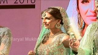 Faryal Makhdoom Khan Interview on her  Asiana Catwalk Debut