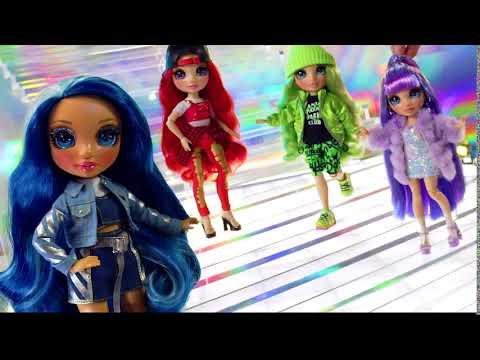 Rainbow High Poppy Rowan Fashion Doll- Orange