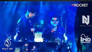 getlinkyoutube.com-Así fue el encuentro de Nicky Jam con su imitador invidente