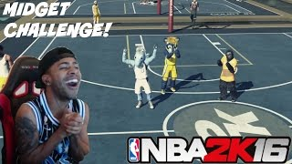 getlinkyoutube.com-NBA 2K16| Entire Team Mascot Midgets!! MyPark Challenge! & Funny Moments