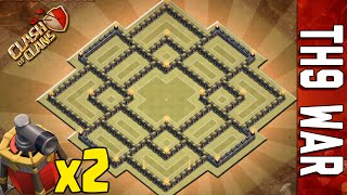 getlinkyoutube.com-WAR BASE TH9 #5 | DOUBLE AIR SWEEPER | NEW SUMMER UPDATE