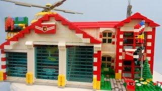 lego city fire truck 60002 instructions