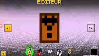 getlinkyoutube.com-Faisons un skin de freddy fazbear sur pixel gun 3D