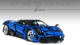 getlinkyoutube.com-LEGO TECHNIC PAGANI HUAYRA