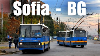 getlinkyoutube.com-SOFIA TROLLEYBUS - Ikarus 280T (09.-11.10.2013)