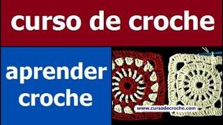 getlinkyoutube.com-CURSO DE CROCHE AULA 080/081 SQUARE EM CROCHE COM INICIO REDONDO