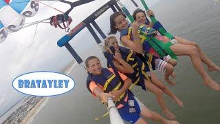 getlinkyoutube.com-Perfect Parasailing with Friends! (WK 240.6) | Bratayley