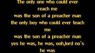 getlinkyoutube.com-Son Of A Preacher Man- Dusty Springfeild (Lyrics)