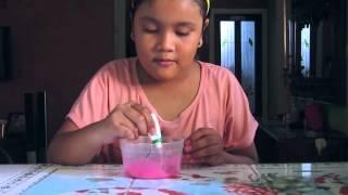 getlinkyoutube.com-cara membuat slime dari lem povinal