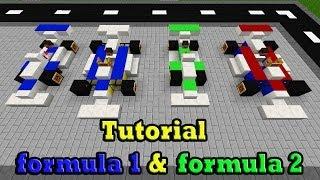 getlinkyoutube.com-Minecraft Tutorial Of formula 1 & formula 2