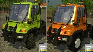 getlinkyoutube.com-LS 15 Modvorstellung - Unimog U400 WB v 1.0 Testfahrt