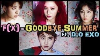 [ซับไทย+karaoke] f(x) - Goodbye Summer (feat.D.O EXO)